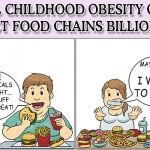 Will Childhood Obesity Cost Fast-Food Chains Billions?