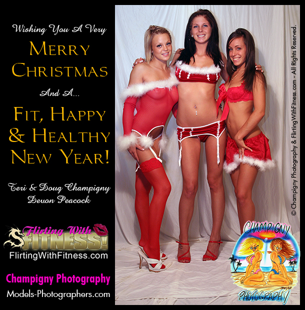 Merry Christmas - Let's make 2013 a fit & healthy new year for all!