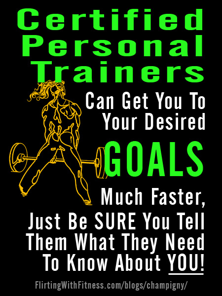 What A Certified Personal Trainer Does – And Doesn't – Know Abou