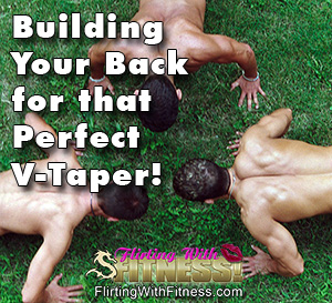Lifting Weights For A V-Taper Back