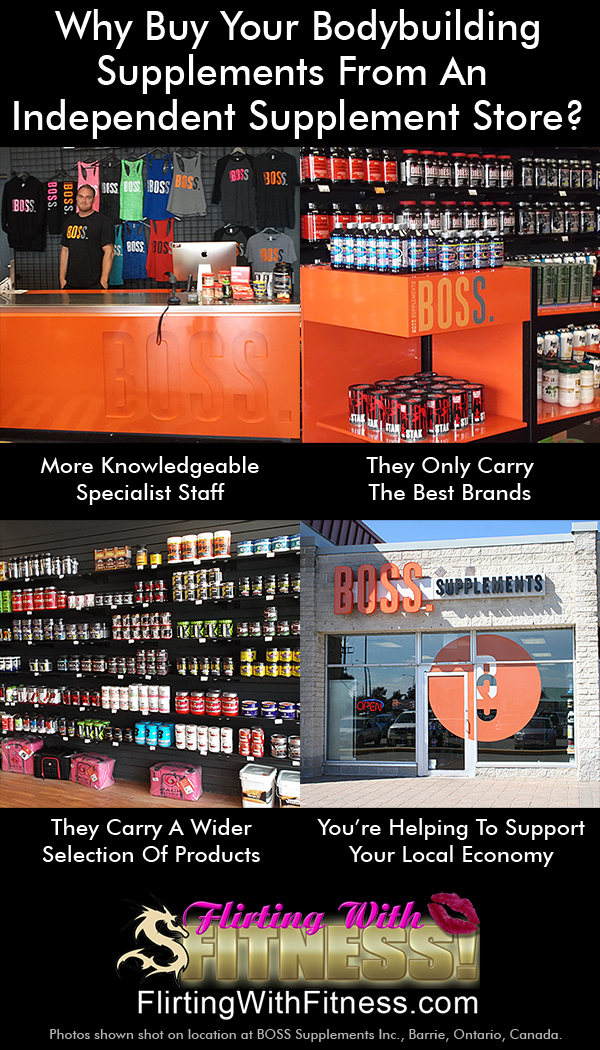 Buy Your Bodybuilding Supplements From Your Local Independent Supplements Store