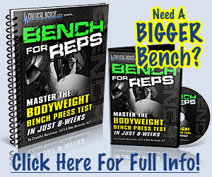 How To Bench Press More - Fast!