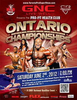 Ontario Bodybuilding, Fitness, Figure, Bikini and Physique Championships