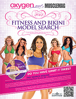 Oxygen Magazine and MuscleMag Fitness and Bikini Model Search