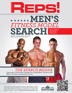 Reps! Magazine Men's Fitness Model Search