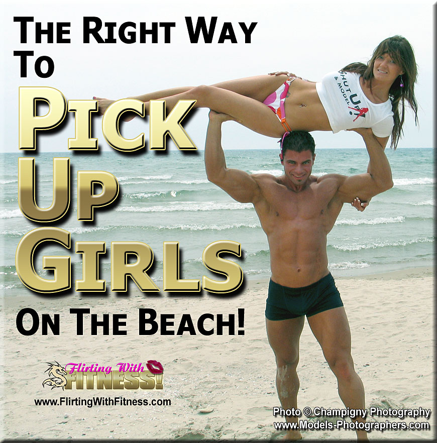 The Right Way To Pick Up Girls On The Beach! Photo © Champigny Photography - http://models-photographers.com